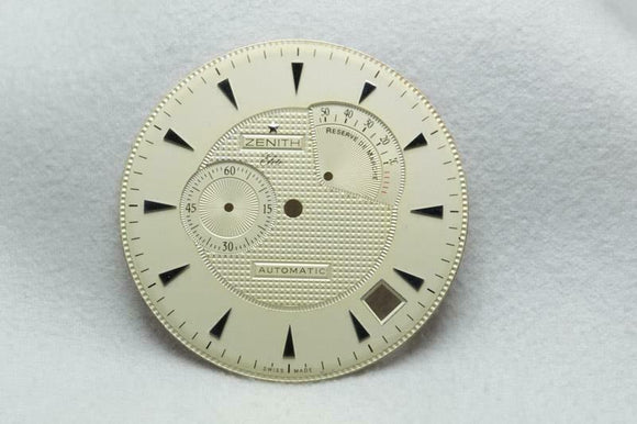 Zenith Elite Cream Reserve De Marche Dial 36.5mm