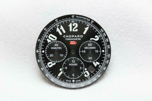 Chopard Black 1000 Miglia Dial & Rehaut - 33.5mm