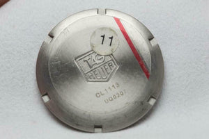 Tag Heuer Stainless Steel Caseback Reference CL1113-0 Kirium
