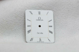 Omega White Gloss De Ville Dial - 20 x 25.7mm New Old Stock