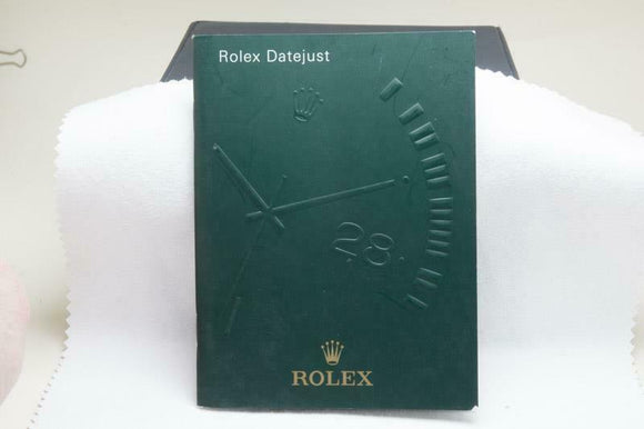 Rolex Datejust Manual 2006 Reference 552.02 Eng 12.2006