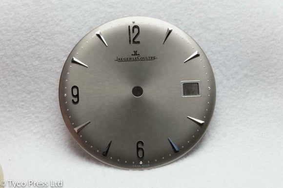 Jaeger Le Coultre Gun Metal Grey Dial 30.4mm -