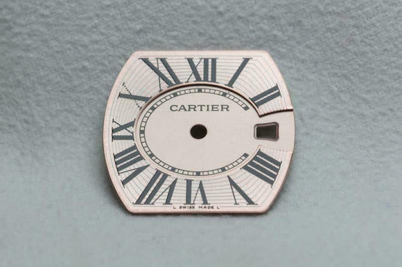 Cartier Roadster Ladies Pink Dial 21.7mm x 20.9mm
