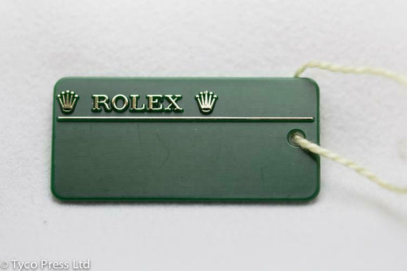 Rolex Green Datejust Model 179171 Swing Tag - Random Serial C