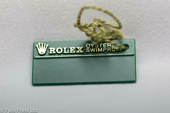 Rolex Green Oyster Datejust 16234 Swing Tag - P Serial 2000