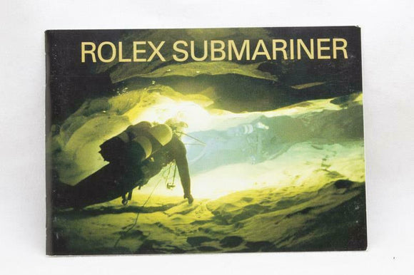 Rolex Submariner Manual English 2003 Reference 594.52 Eng 3.2003