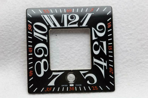 Franck Muller Black Wristwatch Dial - 31mm x 31mm - WC103765A