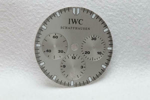 IWC Silver Chronograph Dial - 26.5mm
