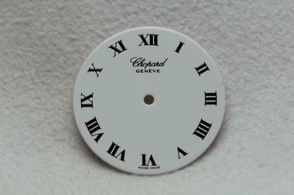 Chopard Geneve Ladies White Wristwatch Dial - 20.5mm NOS WC102813
