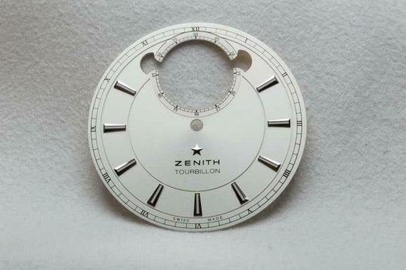 Zenith Tourbillon Silver Dial 34.9mm