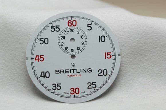 Breitling 1/5 StopWatch Dial - 45mm NOS
