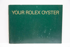 Your Rolex Oyster Booklet - 2000 - Ref 579.52 Eng 7.2000
