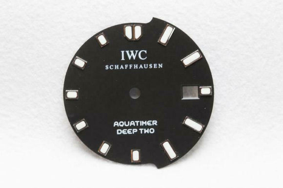 IWC Aquatimer Deep Two Black Dial - 27.75mm
