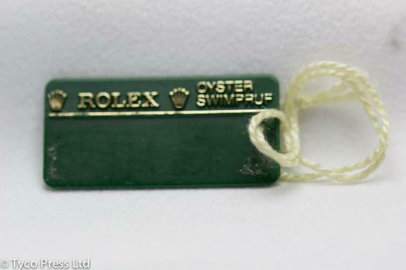 Rolex Green Oyster Perpetual Model 177200 Swing Tag - M Serial - 2007/8