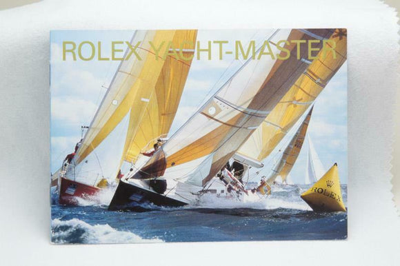 Rolex Yacht-Master Manual 2001 Reference 600.52 Eng 3.2001