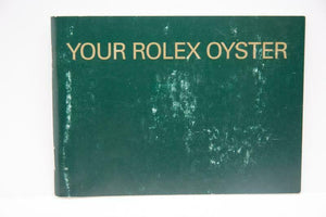 Your Rolex Oyster Booklet - 2003 - Ref 579.52 Eng 1.2003