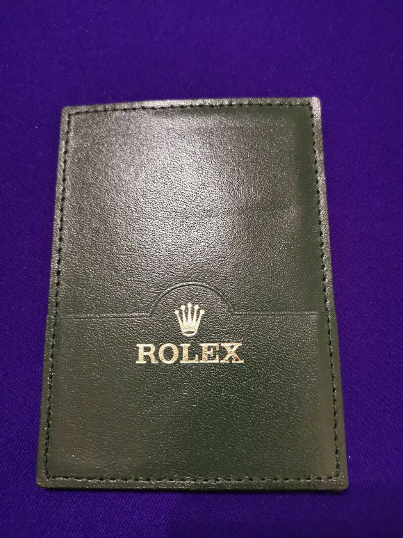 Rolex Warranty Guarantee Papers & Manual Pouch / Wallet Ref 30.01.34