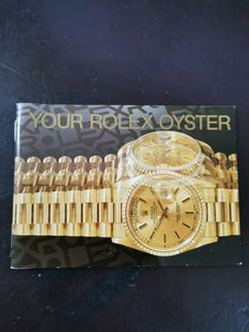 Your Rolex Oyster booklet 1994