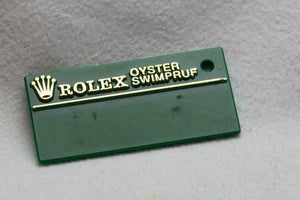 Rolex Swimpruf Swing Tag - W443382 Approx 1995