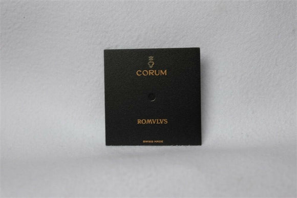 CORUM ROMVLVS matt black dial