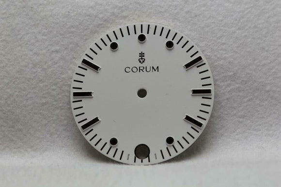 Corum White Gents Dial with Silver Markers 25.6mm