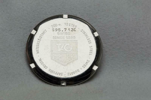 Tag Heuer Stainless Steel Caseback Reference S95.713C SEL
