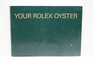 Your Rolex Oyster Booklet - 2007 - Ref 579.52 Eng 5.2007