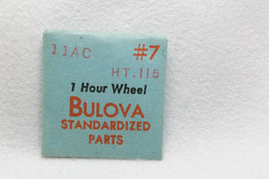 Bulova Wristwatch Parts Calibre 11AC