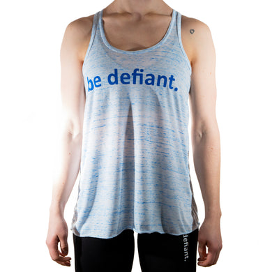 Front View of Blue Marble Essential Racerback Vest