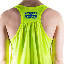 Load image into Gallery viewer, Neon Yellow Essential Racerback Vest
