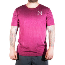 Load image into Gallery viewer, Maroon Premium Workout T-Shirt