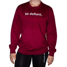 Load image into Gallery viewer, Burgundy Sweatshirt