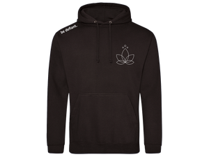 Lotus Yoga Essential Black Hoodie