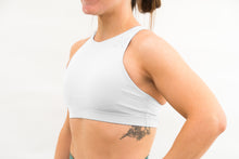 "Load image into Gallery viewer, The High Neck ""Reach"" Sports Bra"