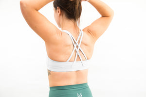 "The High Neck ""Reach"" Sports Bra"
