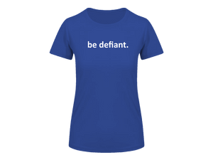 Ladies Essential Royal Blue Technical T-shirt