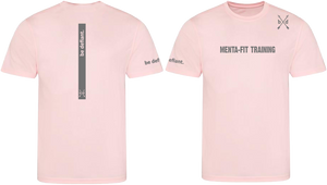 Menta-Fit x Be Defiant Pink Running Top