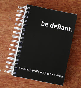 Be Defiant Training Diary