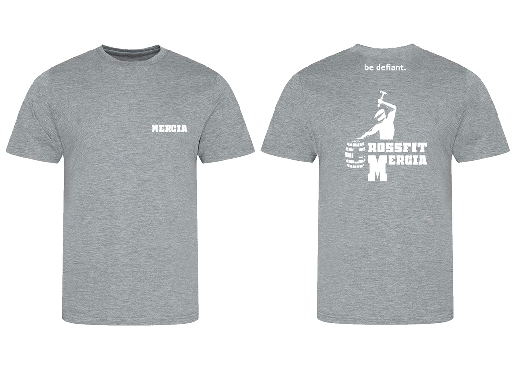 CrossFit Mercia Grey Men's Premium T-Shirt