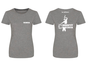 CrossFit Mercia Grey Women's Premium T-Shirt