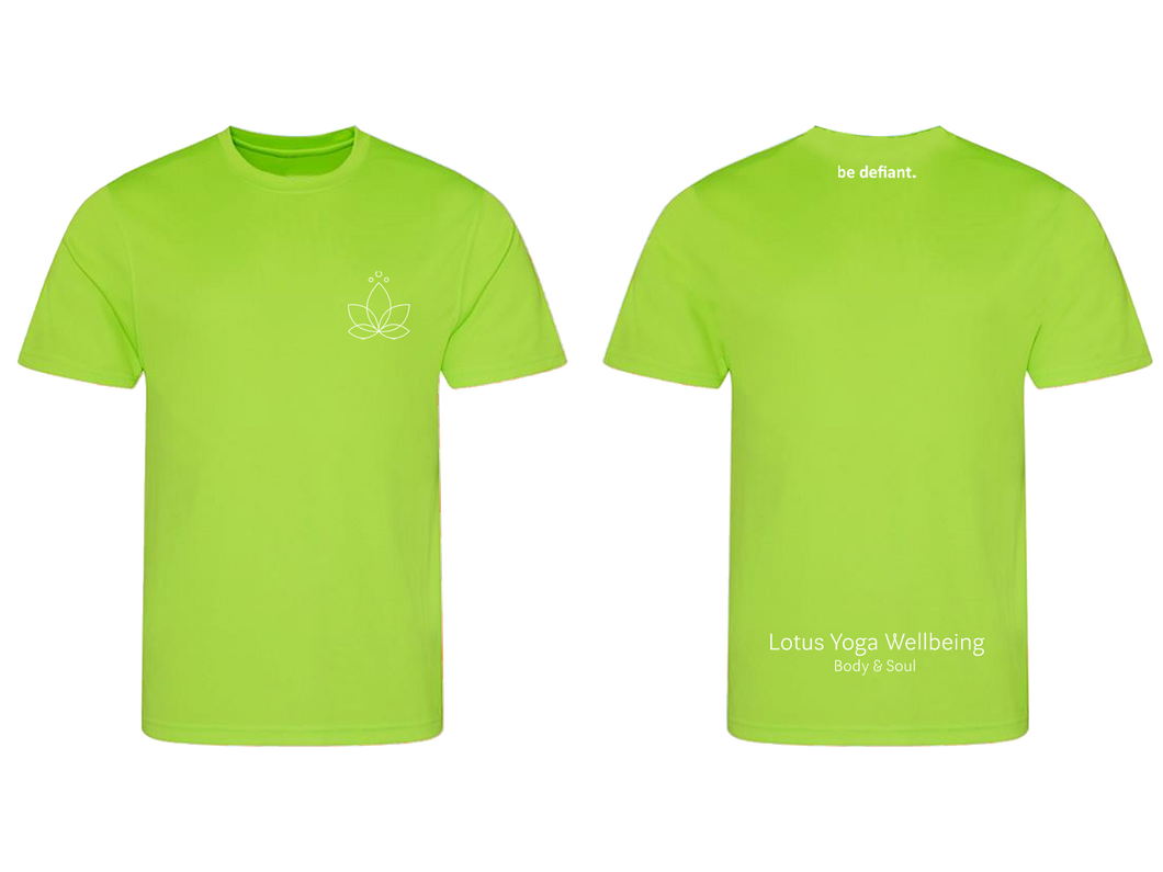 Lotus Yoga Green Technical T-Shirt