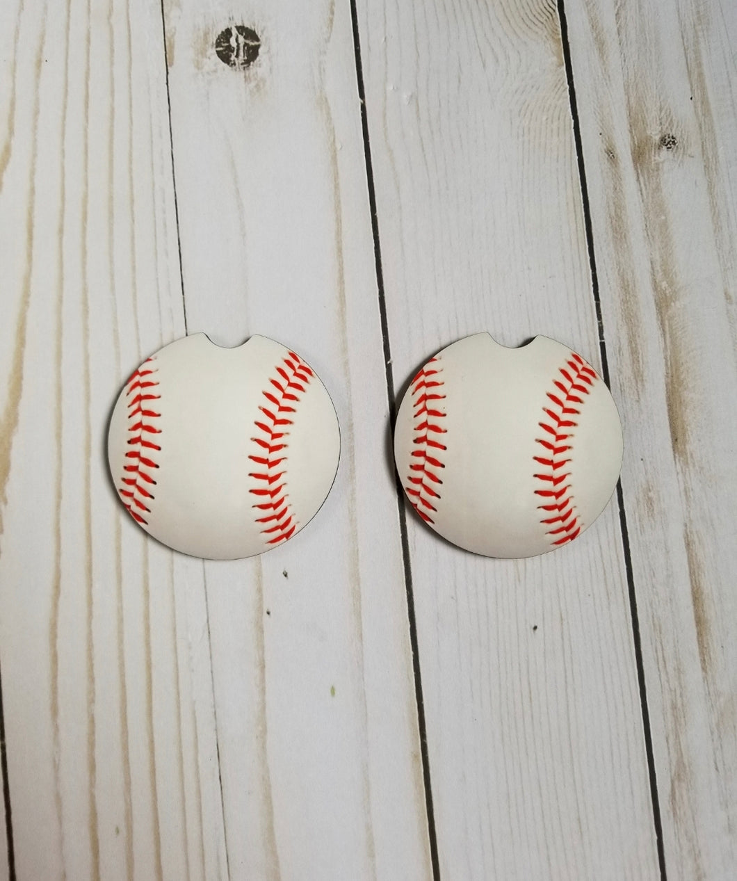 Car Coasters - Baseball