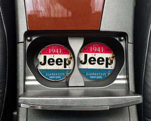 Car Coasters - Jeep