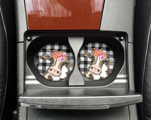 Load image into Gallery viewer, Car Coasters - Girly Cow