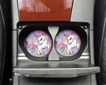 Load image into Gallery viewer, Car Coasters - Unicorn