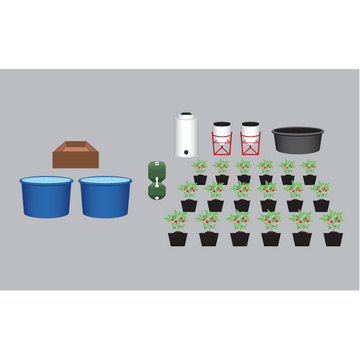 Aquaponics Decoupled Bucket 1 - Enterprise Aquatics