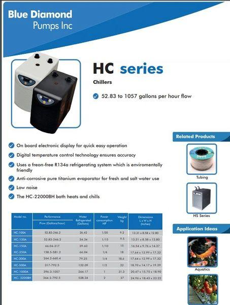 HC 150A Chiller - Enterprise Aquatics