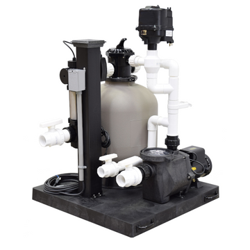 Deluxe Skid Mount Filtration System - 3600 gallon - Enterprise Aquatics
