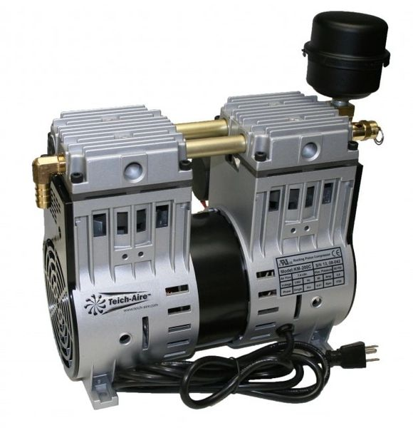 Teich-Aire Rocking Piston Compressor, 3/4 HP, 115V - Enterprise Aquatics
