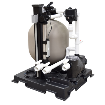 Deluxe Skid Mount Filtration System - 10000 gallon - Enterprise Aquatics